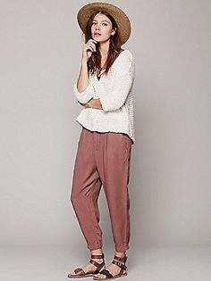 Free People Cool & Clean Harem Pant at Free People Clothing Boutique