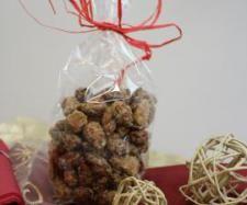 Świąteczne migdały w karmelu | Przepisownia