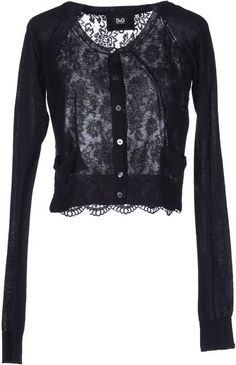 D&G Cardigan - black lace #style