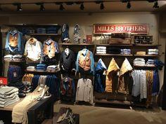 Boutique Interior, Clothing Store Interior, Clothing Store Displays, Clothing Store Design, Men's Clothing, Visual Merchandising Displays, Fashion Merchandising, Visual Display, Denim Display