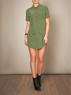 utility shirt dresses - Google Search