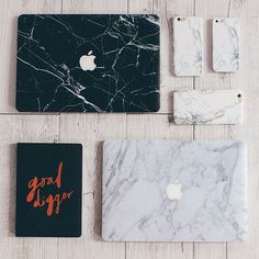 Marble heaven Our new 'Goal Digger' notebook + 'Marble Laptop Decals' + 'Marble iPhone' cases are the best! (black coming soon!) ✔ Shop them now via the link in our bio ☝ #iloveshowpo