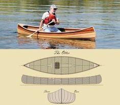 Custom Made 'The Otter' Canoe Kit