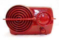Vintage Crosley Art Deco Old Bullseye Radio Highest Quality