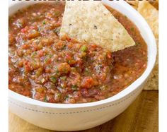 The best salsa recipes don't come in a jar. Try these yummy salsa recipes! Mexican Salsa Recipes, Dip Recipes, Appetizer Recipes, Cooking Recipes, Appetizers, Spicy Salsa Recipes, Mexican Hot Sauce Recipe, Lunch Recipes, Tostada Recipes