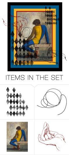 """""""All tied up"""" by pheinart ❤ liked on Polyvore featuring art"""