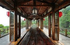traditional Chinese house elements in a modern design