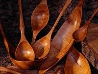 Barry Gordon : Cherry spoons, ladles and scoops