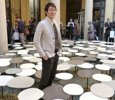 Milan 2013: Interview with Nendo's Oki Sato about his installations in Milan. [VIDEO]