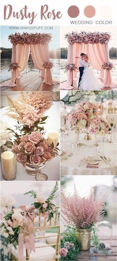 Pink Wedding Decorations, Pink Wedding Colors, Gold Wedding Theme, Dusty Rose Wedding, Ceremony Decorations, Wedding Themes, Dream Wedding, Wedding Ideas, Summer Wedding