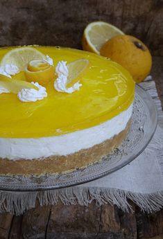 torta fredda limone e cioccolato bianco senza cottura ricetta cheesecake estiva golosa