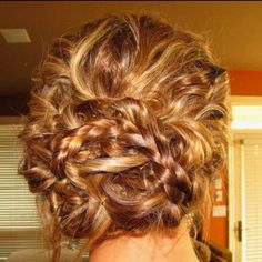 Loved my hair from last years prom