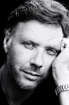 Mikael Persbrandt.....who can make me feel like 16 again.....what a man.