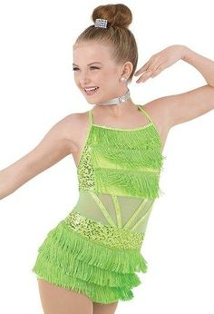 New Tap DANCE COSTUME Lace Bodice Organdy Skirt Sequin Ruffles Ribbons Child Szs
