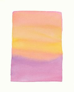 Pink Lavender Gold Soft Fade