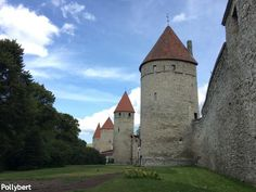 the towers of the city wall @Tallinn  More impressions of Estonia - pictures from the road