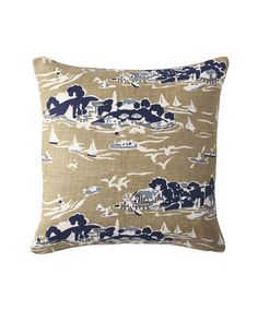 Skylake Toile Pillow CoversSkylake Toile Pillow Covers, 2