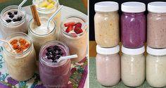 Zdravé a chutné ovocné smoothie s ovsenými vločkami (6 variácií)