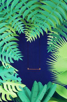 Set design rainforest