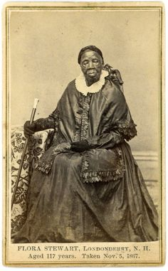 Here is a selection of conflicting stories about Londonderry's most famous black citizen of the 19th century. Flora Stewart's photograph was...