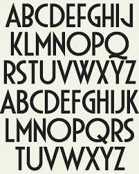 art deco letters - Google zoeken