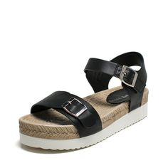 2016Summer Sandals/Woven round thick crust fashion flattie/Women sandals *** Click on the image for additional details.