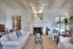 Architect Elisabeth Wagner's living room.  David and I have had the privilege of sitting in this beautiful space!