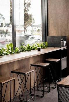 10 Incredible Coffee Shop Interior Design Ideas For Your Inspiration HomelySmart Coffee Shop Interior Design, Interior Design Awards, Coffee Shop Design, Restaurant Interior Design, Interior Shop, Coffee Shop Interiors, Coffee Cafe Interior, Bistro Interior, Small Coffee Shop