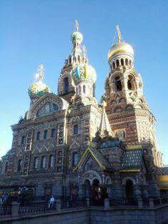 Храм Спаса-на-Крови / Church of the Savior-on-Blood en Санкт-Петербург