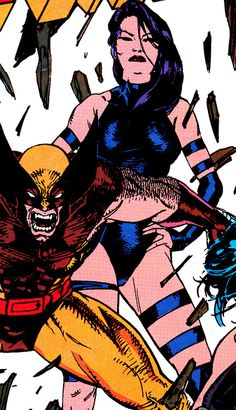 Wolverine & Psylocke - Jim Lee (1990)