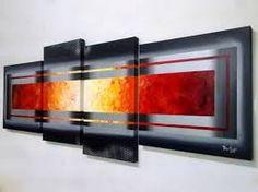 pintura abstrata em tela - Pesquisa Google