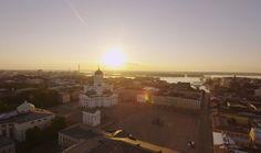 Mitternachtssonne in Helsinki (c) Visit Finland