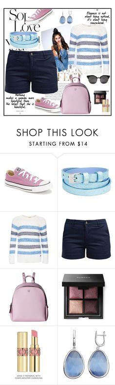 """""""Untitled #19"""" by superpaolamara ❤ liked on Polyvore featuring Envi:, Converse, Aspinal of London, Barbour, MCM and Yves Saint Laurent"""