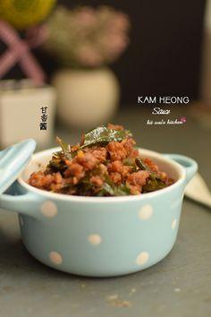 "Kit Wai's kitchen : 甘香酱 ~ "" Kam Heong "" sauce"