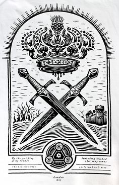 """Macbeth t-shirt graphic  """"By the pricking of my thumbs, something wicked this way comes.""""    Macbeth    William Shakespeare (1607)"""