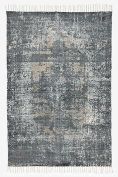 FORMELLO bomullsmatta 120x190 cm - Grå - Mattor - Ellos.se