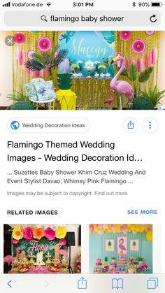 Flamingo Baby Shower, Wedding Images, Pink Flamingos, Wedding Decorations, Flamingos, Wedding Decor