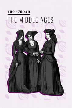 The History Of The Little Black Dress: 400 - 700 AD — During the Middle Ages, people didn't dare wear black, as the color had taken on a pretty bad rap. It was the color of bad fortune, evil, and the devil, and outcasts were routinely clothed in black to demonize them. Unsurprisingly, this was also the time when black cats and crows gained their ill reputations.