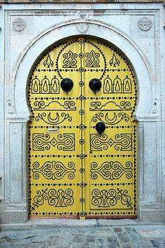 The wonderful doors of Tunisia 2 | Flickr - Photo Sharing!❤️