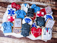 Medical Thank You by Dany's Cakes | Cookie Connection