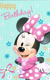 Me and my daughters favorite Minnie Mouse Cartoon Photo's ! - Me and my daughters favorite Minnie Mouse Cartoon Photo's ! Happy Birthday Mickey Mouse, Birthday Wishes For Kids, Happy Birthday Daughter, Cute Happy Birthday, Happy Birthday Wishes Cards, Happy Birthday Pictures, Happy 1st Birthdays, Happy Birthday Quotes, Birthday Cards