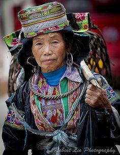 Miao Traditional Costume. China