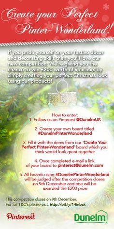 #DunelmPinterWonderland #Comp #Win #Competition #Giveaway #Dunelm #Christmas #Xmas