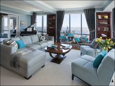 Looking for color inspiration, not planning on putting a turquoise motorcycle in my living room!