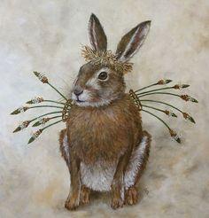 vicki sawyer art | Vicki Sawyer angel bunny