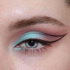 Edgy Makeup, Makeup Eye Looks, Eye Makeup Art, Cute Makeup, Pretty Makeup, Eyeshadow Makeup, Beauty Makeup, Crazy Eyeshadow, Makeup Quiz