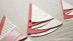 10 manualidades con papel para Navidad | Aprender manualidades es facilisimo.com