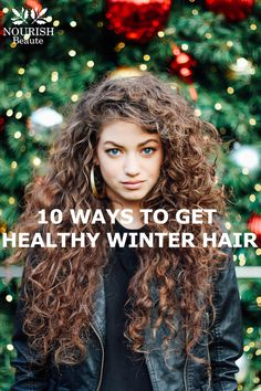 The health of your hair changes with each season. If you want to learn what you can do to keep your hair healthy during winter, click this pin for more!