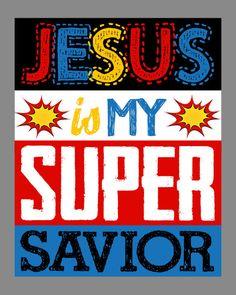 Superhero Wall Art super hero wall art christian print supermanpixiepaperstl