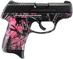 Ruger 3243 LC9S 9mm Muddy Girl Camo